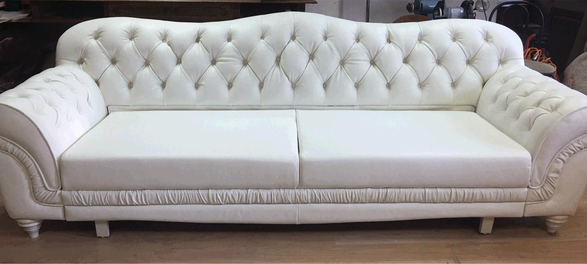 Реставрация кожаной мебели